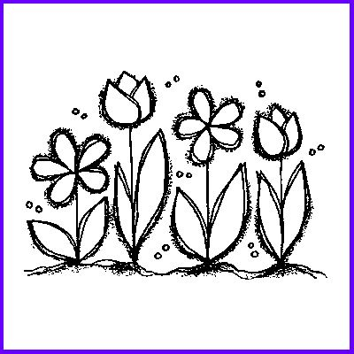 You can order Pretty Petal Row Wood Mounted Rubber Stamp