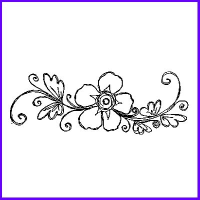 You can order Delicate Flower Spray Wood Mounted Rubber Stamp
