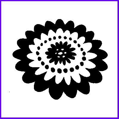 You can order Retro Bloom Wood Mounted Rubber Stamp