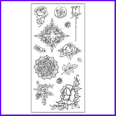 You can order Rose Set of Clear Cling Stamps