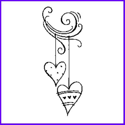 You can order Drop Hearts Wood Mounted Rubber Stamp