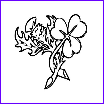 You can order Thistle and Shamrock Medium Clear Cling Stamp