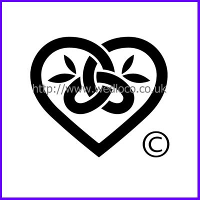 You can order Celtic Trinity Twist Heart Medium Clear Cling Stamp