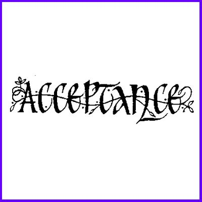 You can order Acceptance Celtic Script Wood Mounted Rubber Stamp was £5.50
