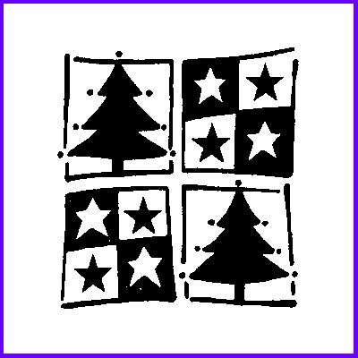 You can order Christmas Trees And Stars Wood Mounted Rubber Stamp was £5.00