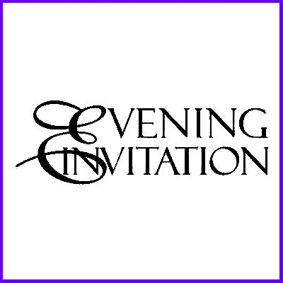 You can order Evening Invitation Scroll Script Foam Mounted Cling Rubber Stamp