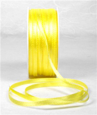 You can order Yellow 3mm Satin Ribbon