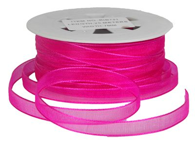 You can order Berry 7mm Organza Ribbon