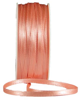 You can order Peach 3mm Satin Ribbon