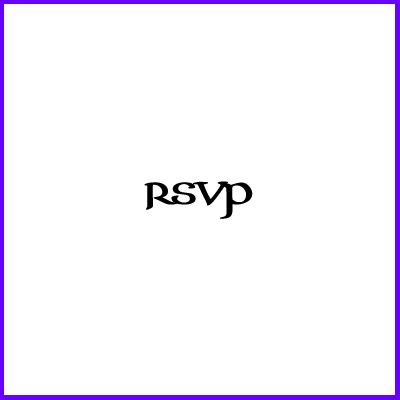 You can order Celtic RSVP Clear Cling Stamp