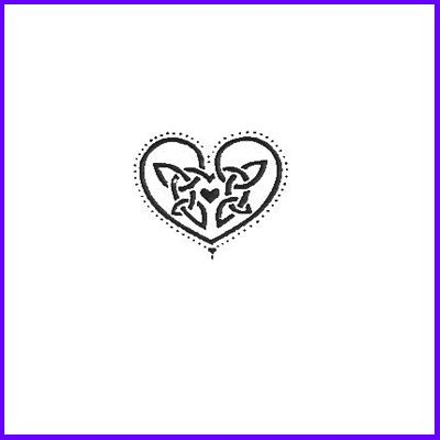 You can order Small Celtic Heart Wood Mounted Rubber Stamp