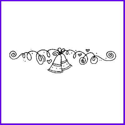 You can order Bell Border Wood Mounted Rubber Stamp