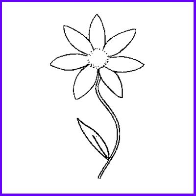 You can order Single Stem Daisy Wood Mounted Rubber Stamp