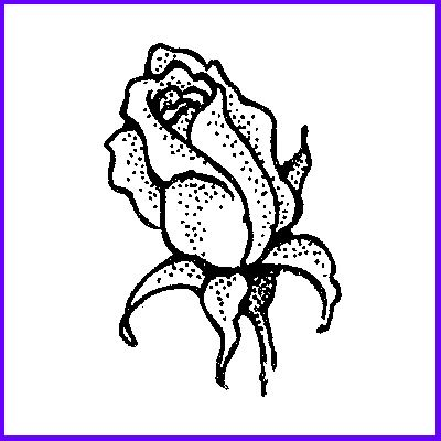 You can order Single Rosebud Wood Mounted Rubber Stamp
