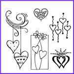 Order Heart Stamp Sale - Half-price or less
