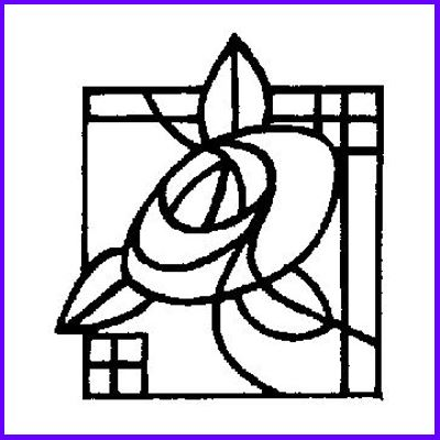 You can order Mackintosh Glasgow Motif 2 Wood Mounted Rubber Stamp