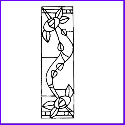 You can order Mackintosh Glasgow Nouveau 2 Wood Mounted Rubber Stamp