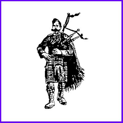 You can order Scottish Piper Wood Mounted Rubber Stamp was £6.50