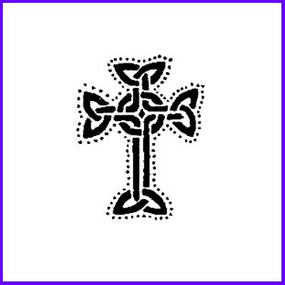 You can order Celtic Cross Small Wood Mounted Rubber Stamp was £4.50