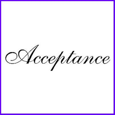 You can order Acceptance Curl Script Wood Mounted Rubber Stamp was £5.50