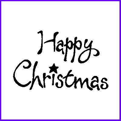 You can order Happy Christmas Wood Mounted Rubber Stamp was £5.00
