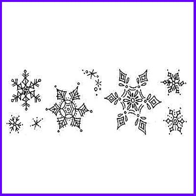You can order Snowflake Symphony Set of Clear Cling Stamps was £8.50