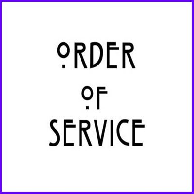 You can order Mackintosh Order of Service