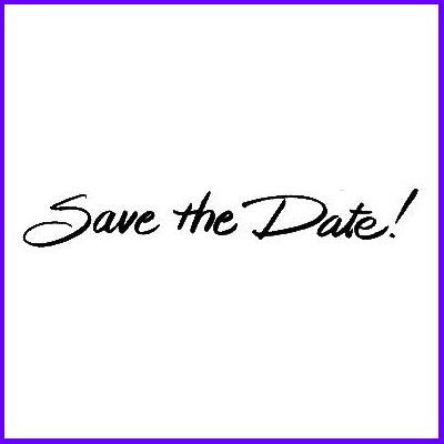 You can order Save the Date!