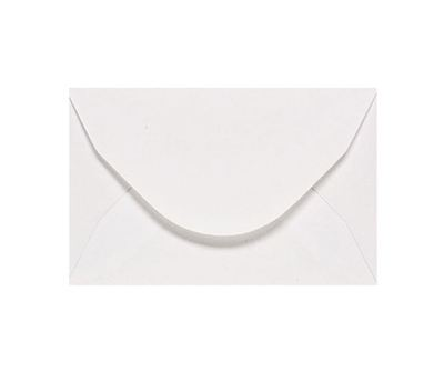 You can order Card 5 White Envelope
