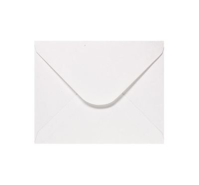 You can order Card 4 White Envelope