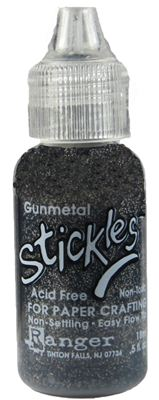 You can order Gunmetal Glitter Glue
