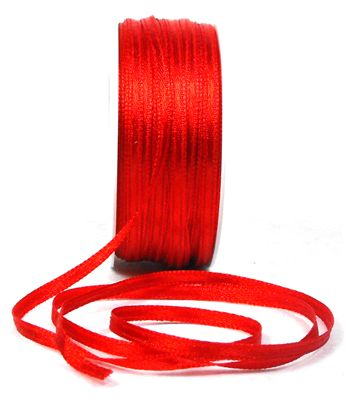 You can order Red 3mm Satin Ribbon