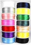 Order 3mm x 50m Satin Ribbon Spools now only £1.50