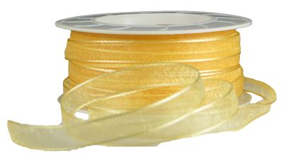 You can order Apricot 7mm Organza Ribbon
